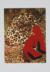 Gill-CHEETA-NUDE-WITH-RED-BOOTS-Serigramie-100x70-2013.jpg
